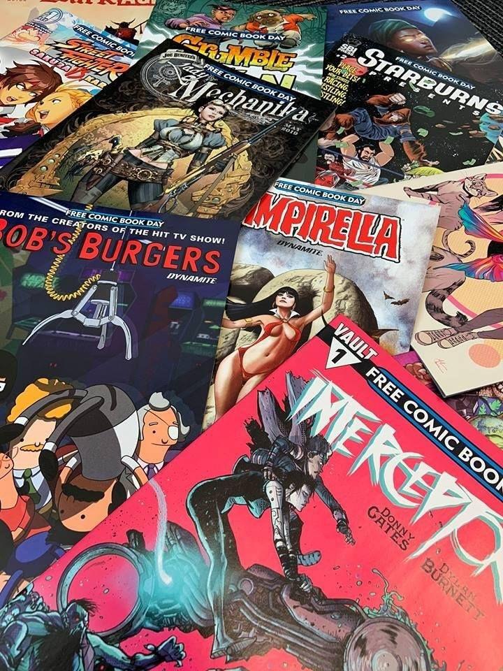 Free comic book day Singapore 2019