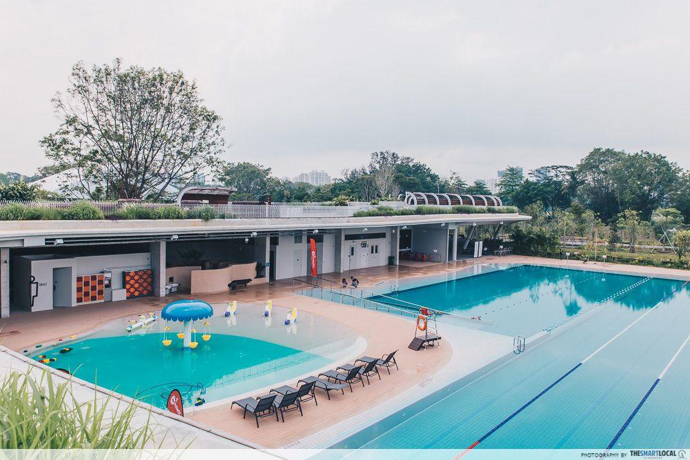 ActiveSG Park @ Jurong Lake Gardens swimming pool