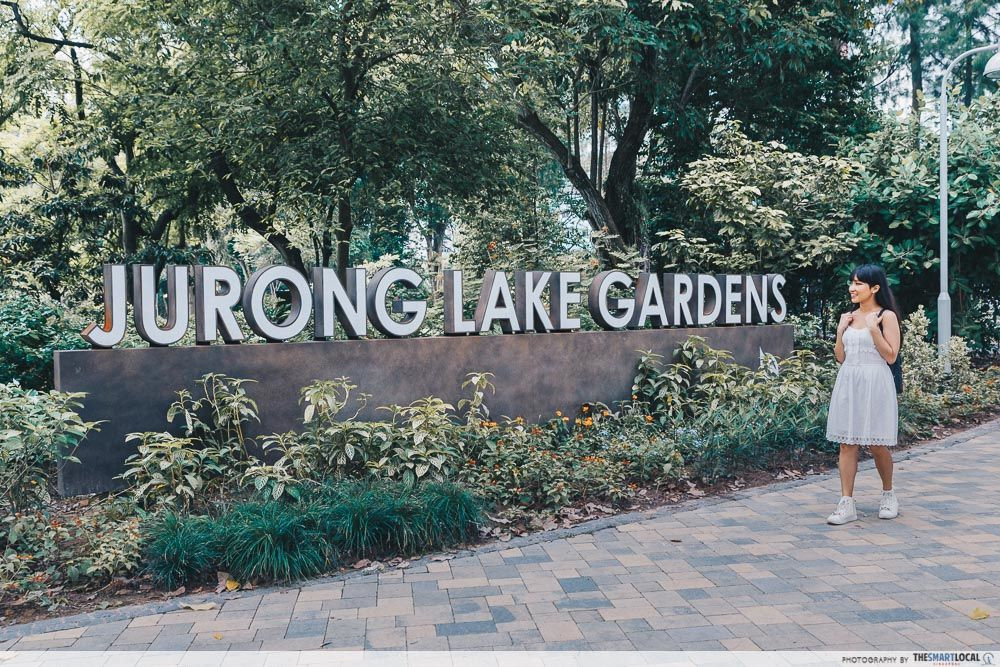 Lakeside Garden Jurong Lake Gardens