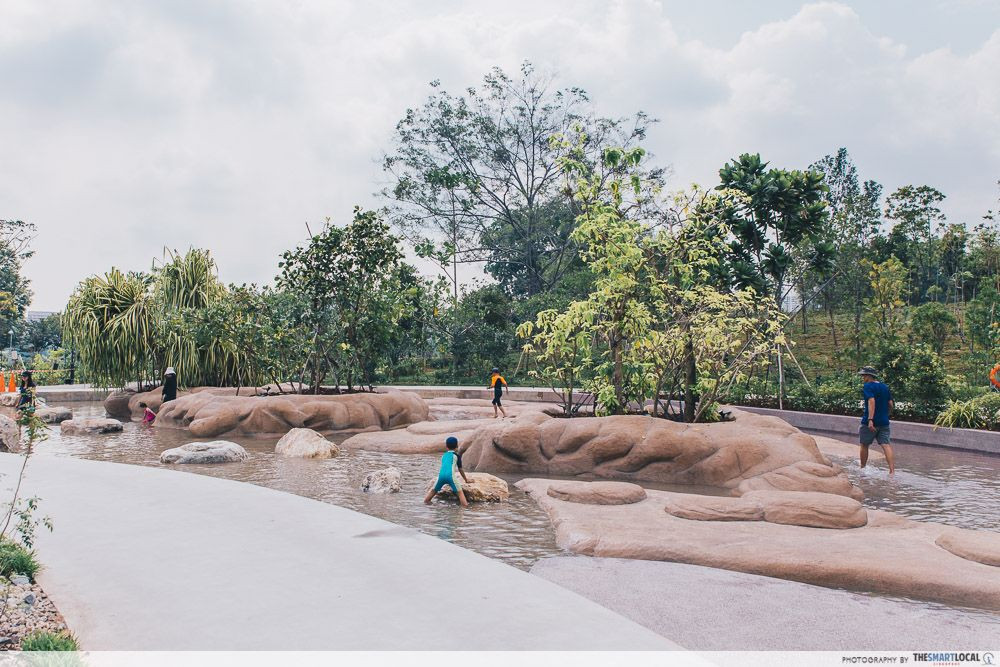 Clusia Cove water playground Lakeside Garden
