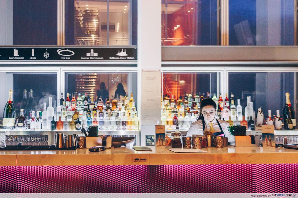 The Shard bar