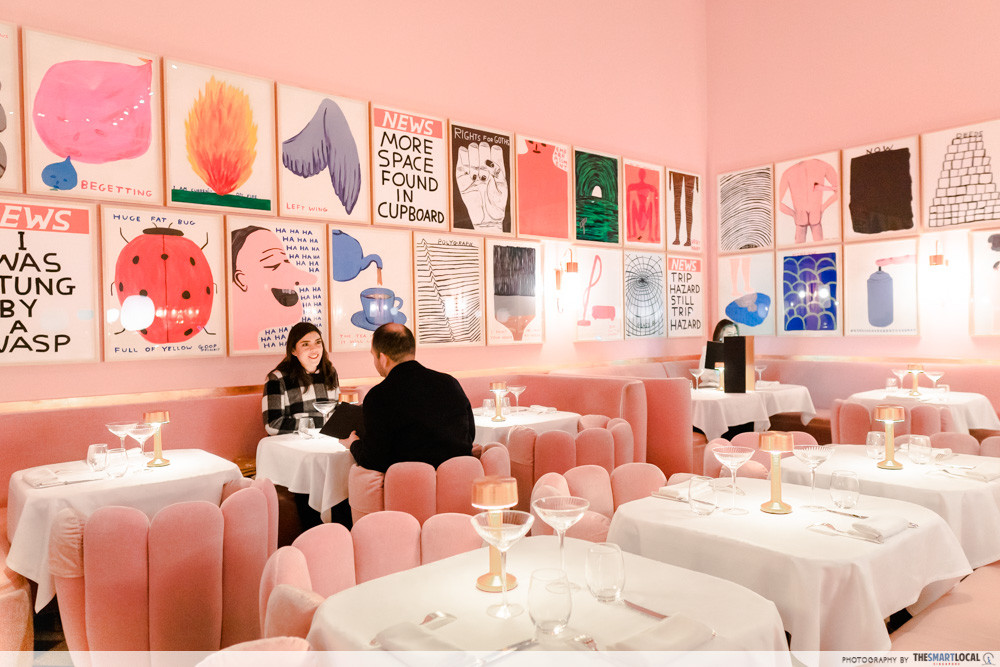 sketch London - pink restaurant