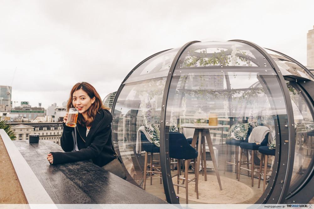 Secret beer tour - rooftop