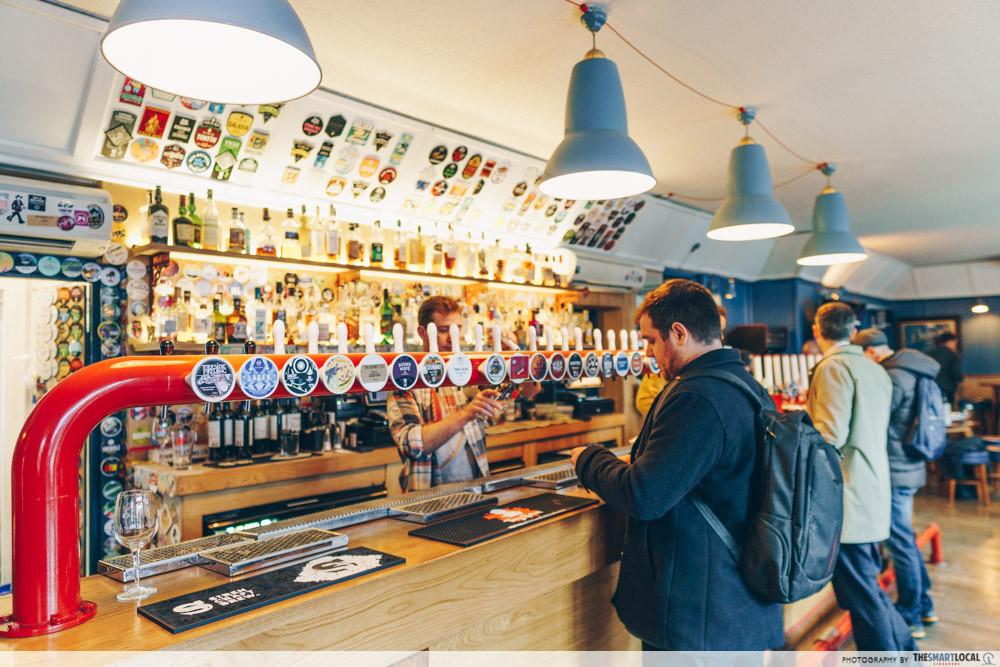 Secret beer tour - bar