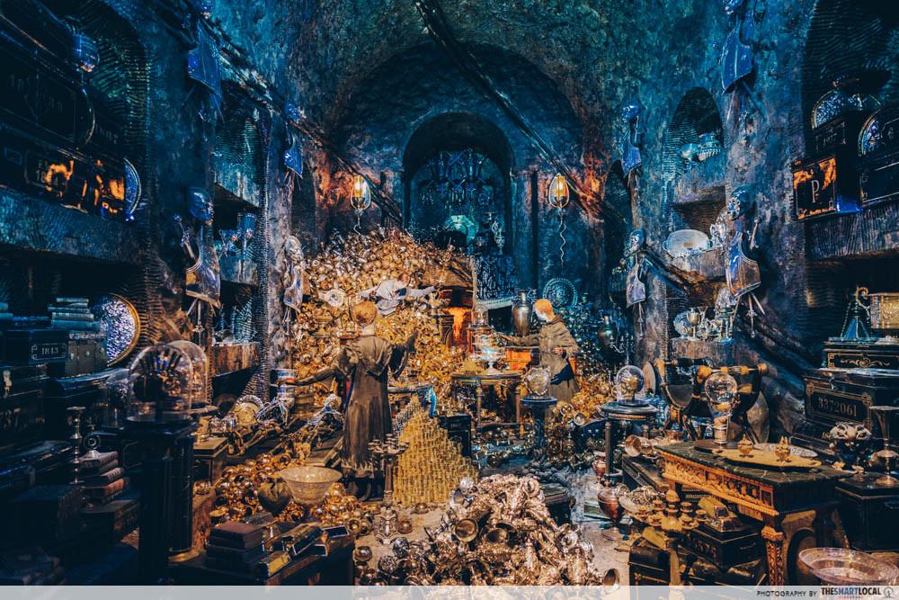 Gringotts Wizarding Bank - Lestrange vault