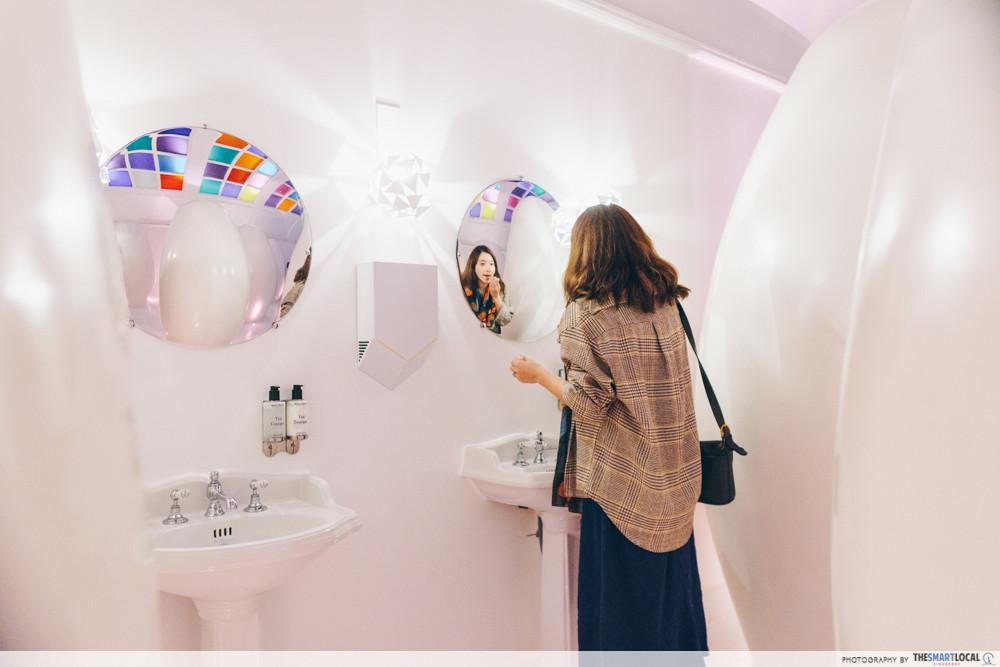 sketch London - bathrooms