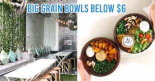 Big grain bowls at Rawsome