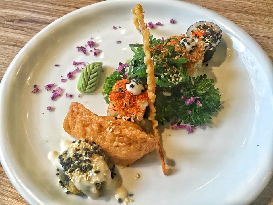 Vegan sushi at Sushi Kitchen KL