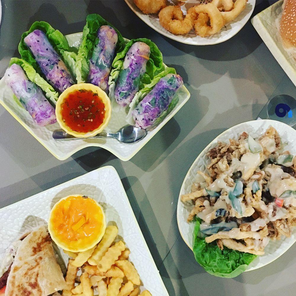 Asian dishes at Loving Cafe Sri Petaling
