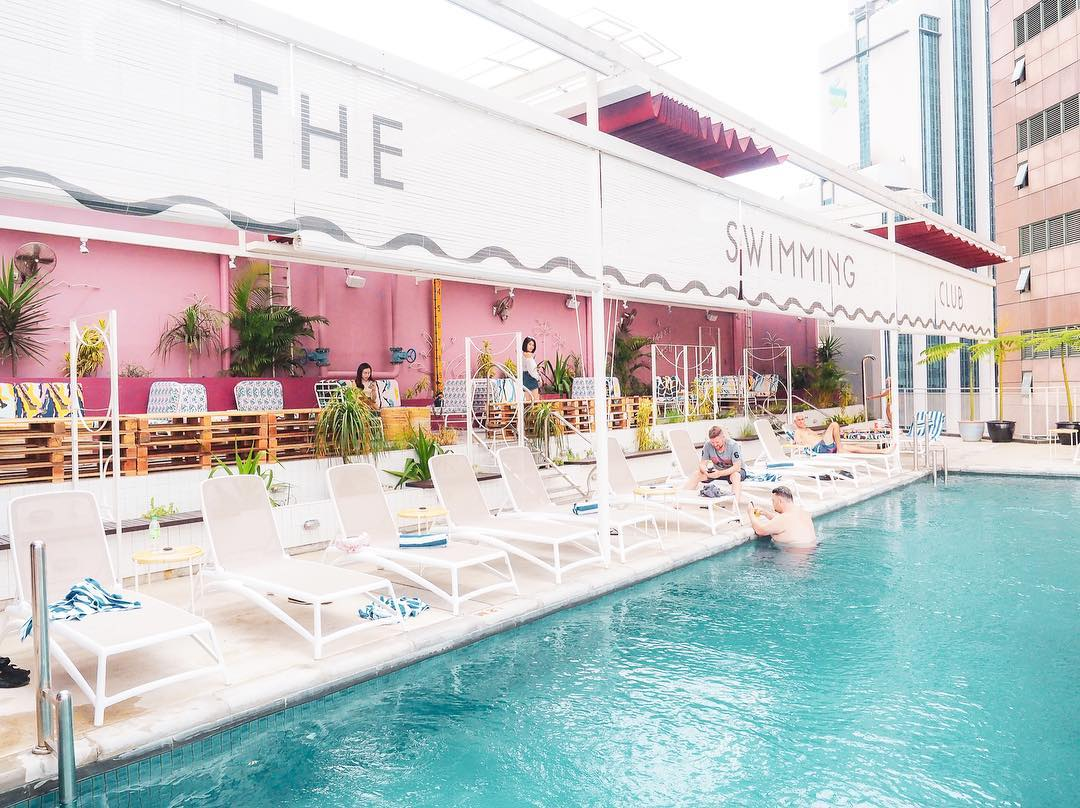 best rooftop bars in Kuala lumpur kl cheap drinks city views the swimming club kl
