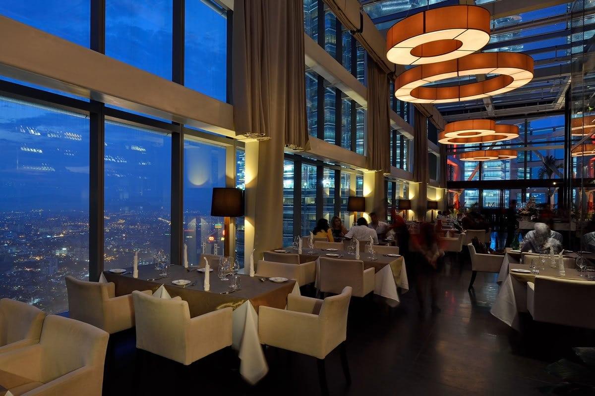 best rooftop bars in Kuala lumpur kl cheap drinks city views marini's on 57