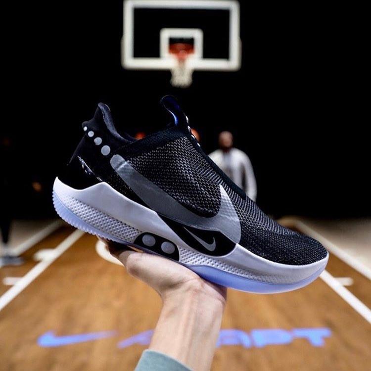 Self-lacing shoes - Nike