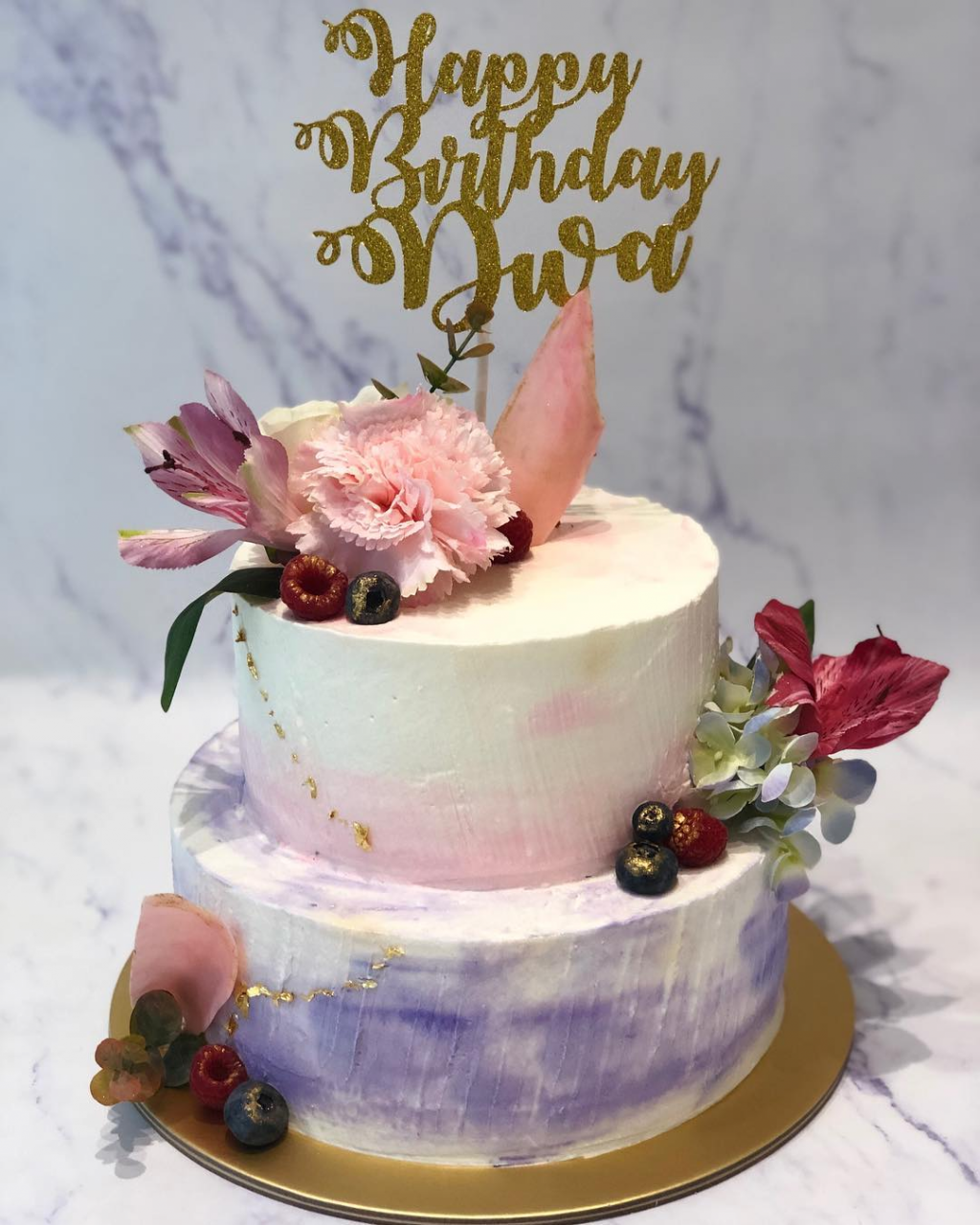 customised birthday cakes home baker singapore cotton home bakes floral