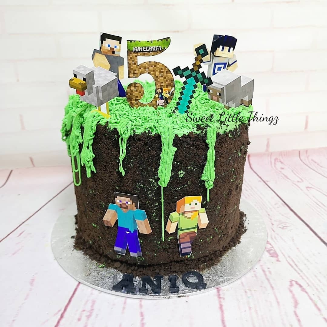 customised birthday cakes home baker singapore sweet little things bts pubg