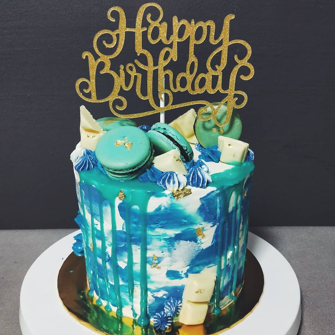 customised birthday cakes home baker singapore liberty bakes pandan gula melaka