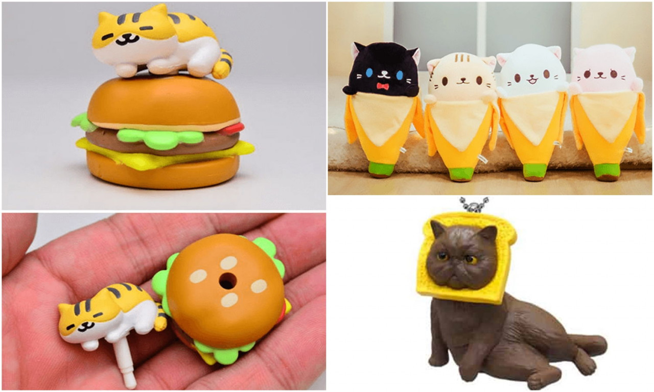 Neko Atsume Bananya cat Singapore