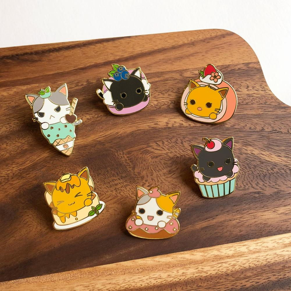 Purrballs cat pins