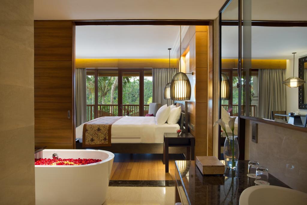 bali jungle resort eco resort hotel villa private pool padma resort ubud