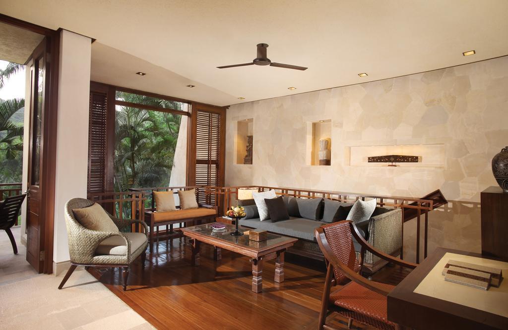 bali jungle resort eco resort hotel villa private pool four seasons sayan
