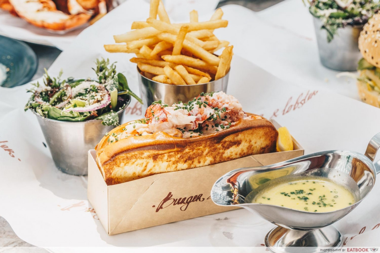 Burger & Lobster - lobster rolls