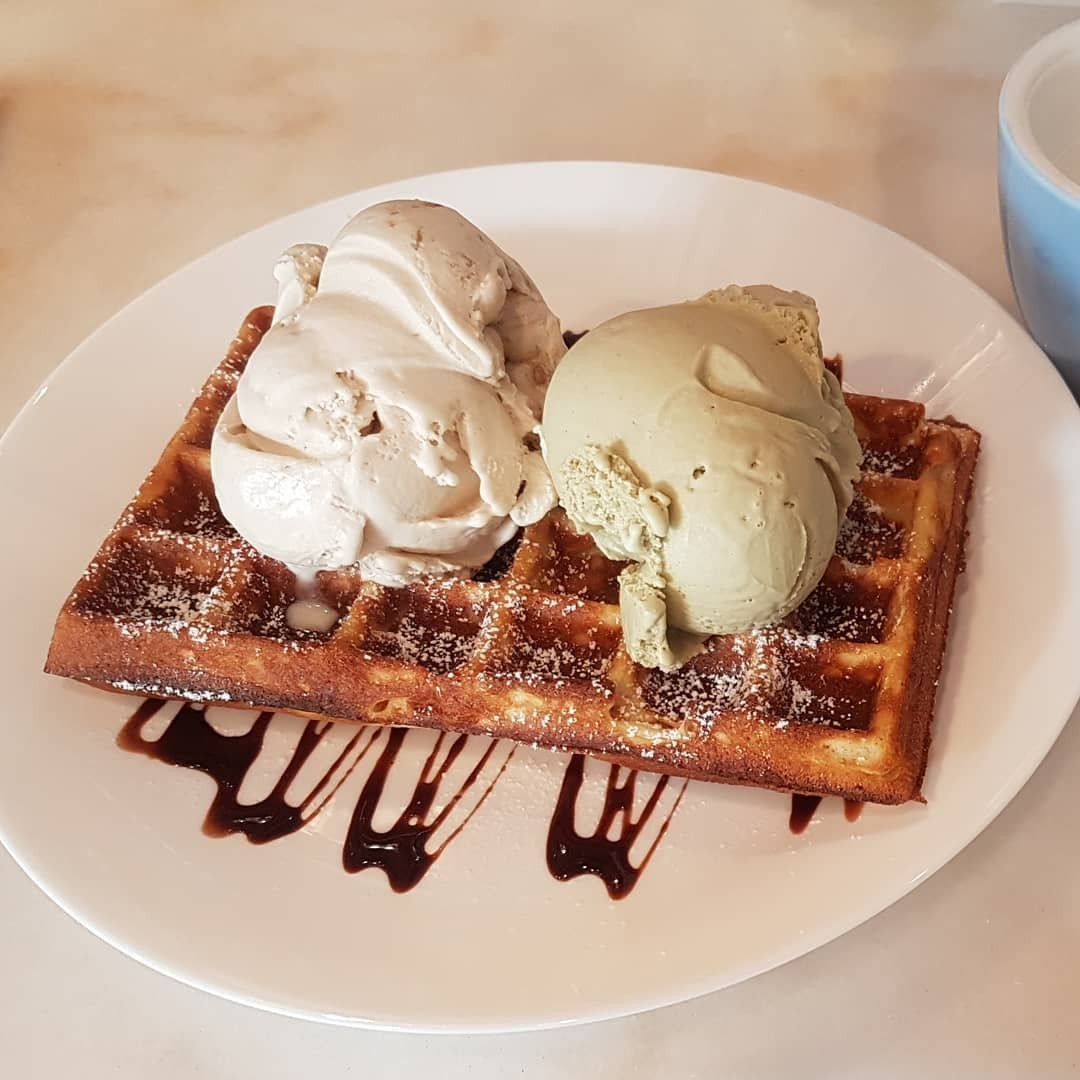 Wishes Cafe - waffles and ice cream