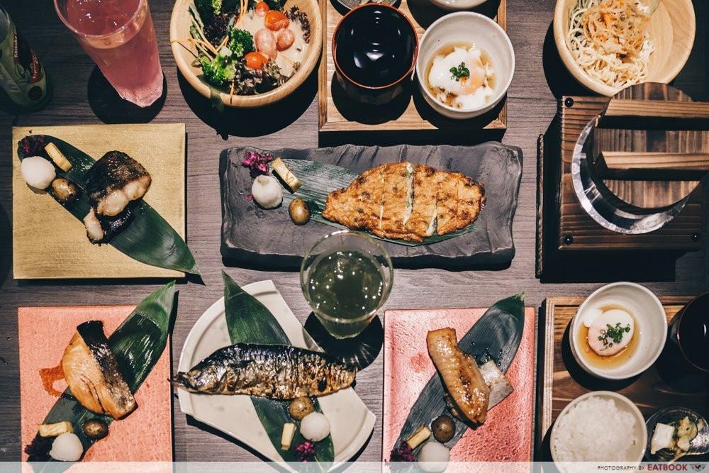 Charcoal Grill & Salad Bar Keisuke - grilled fish