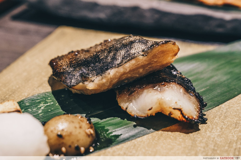 Charcoal Grill & Salad Bar Keisuke - grilled fish