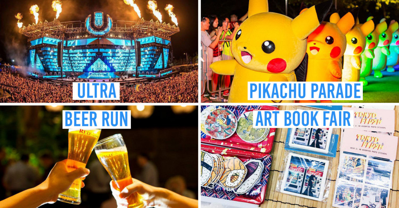 20 Things To Do In June 2019 - Pokemon Carnival, Pink Dot, & Boyband