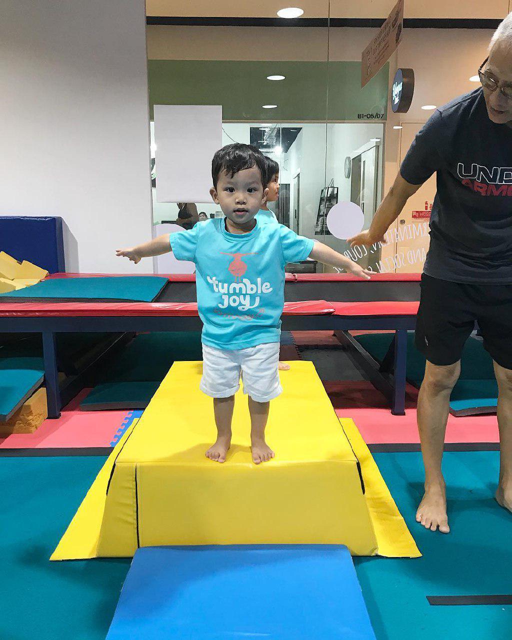 tumble joy gym