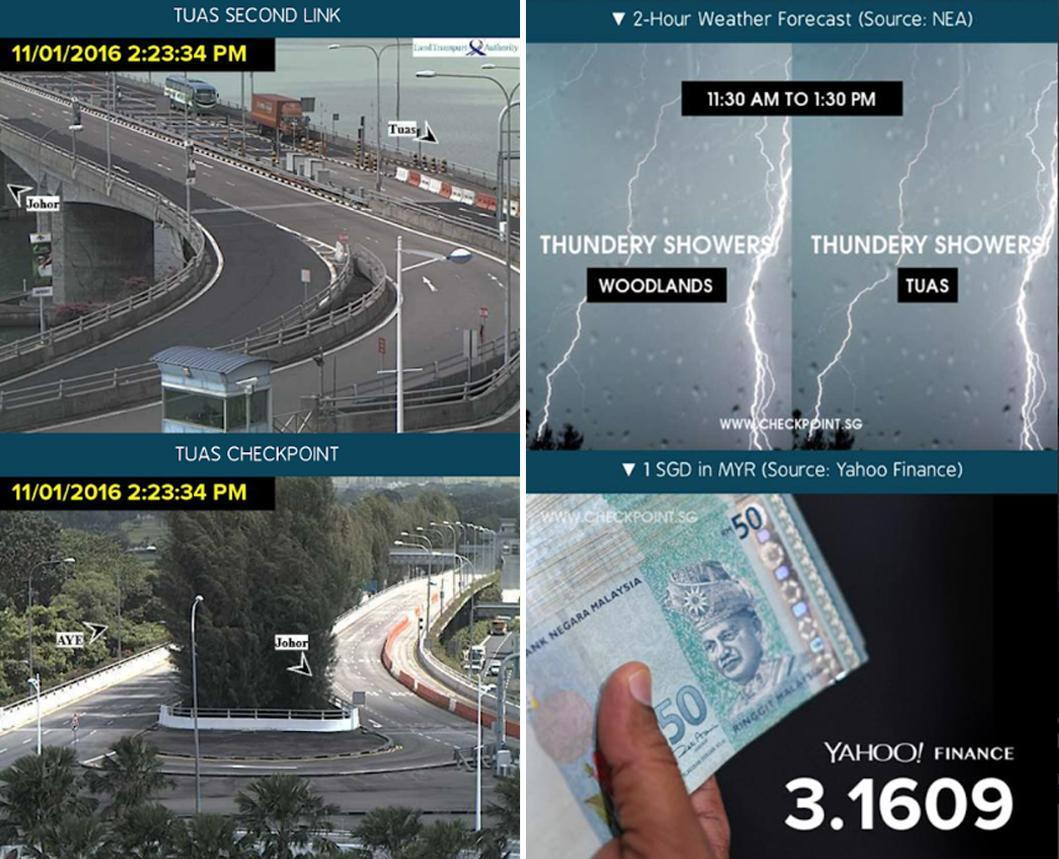 Screengrabs of Checkpoint.sg