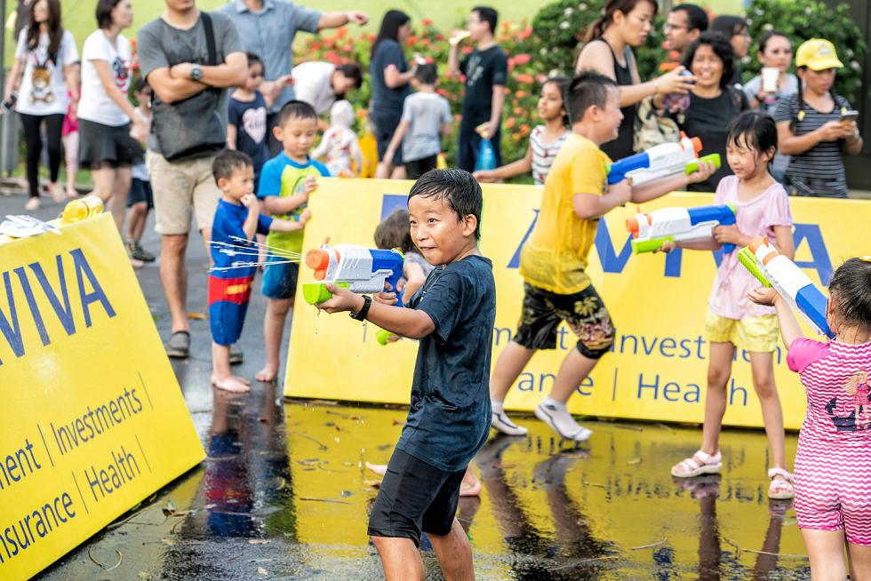 aviva superfundae family outdoor carnival