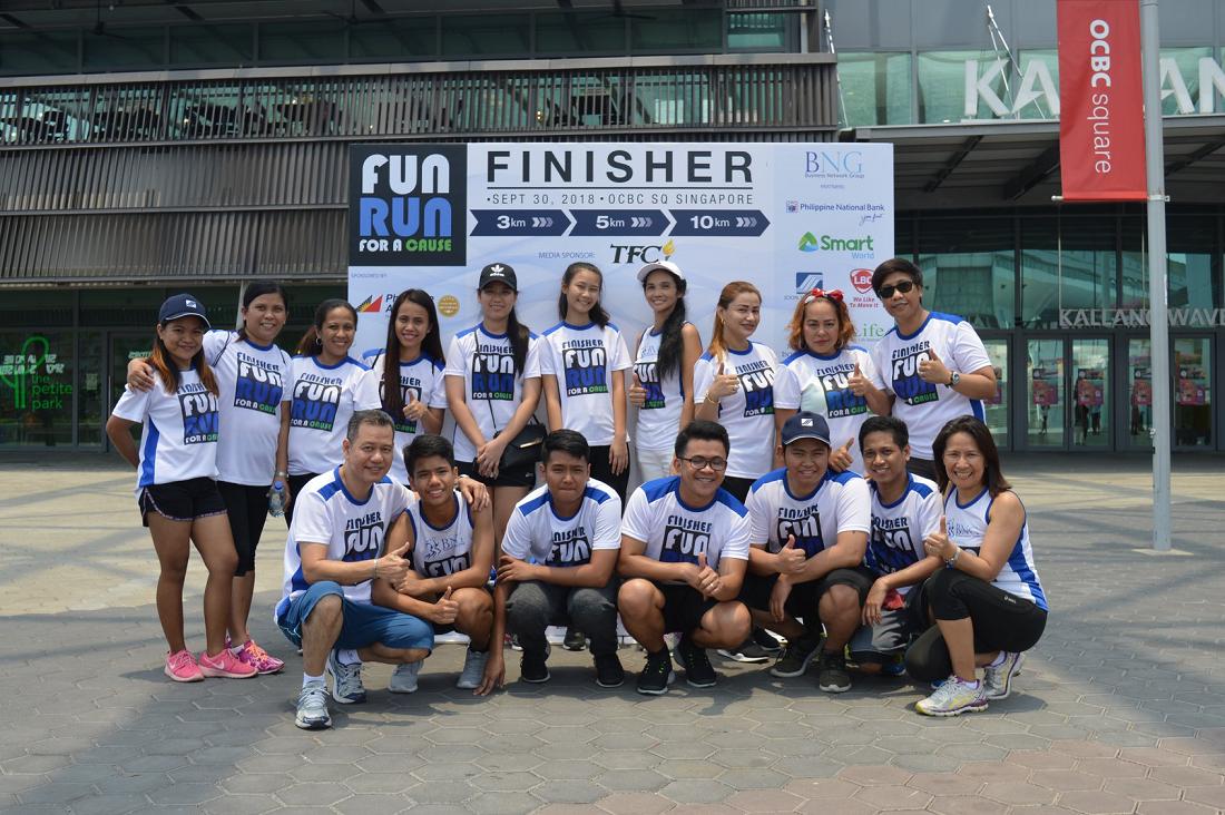 marathons runs in 2019 singapore bng fun run