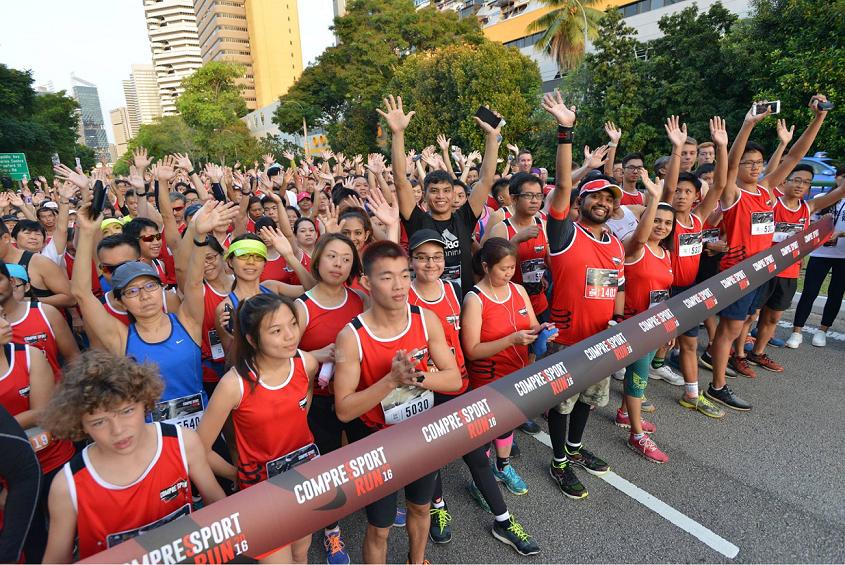 marathons runs in 2019 singapore compressport run
