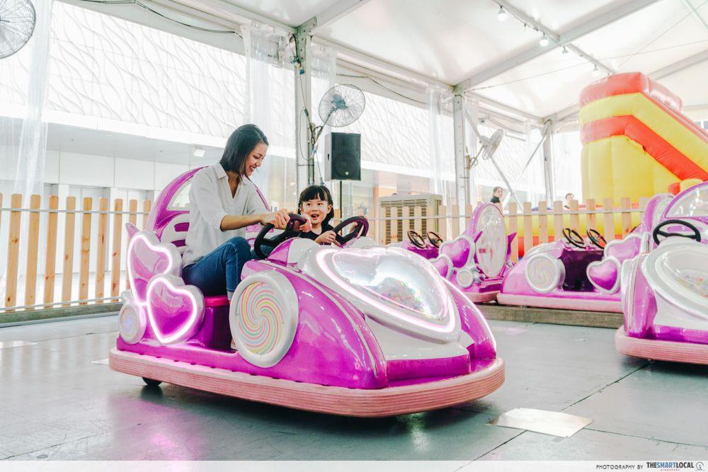 vivocity kids carnival june car wander wheels