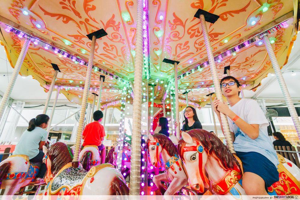 carousel vivocity carnival kids