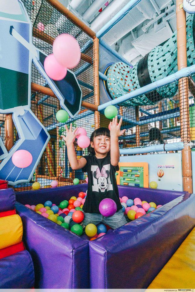 polliwogs indoor playground vivocity
