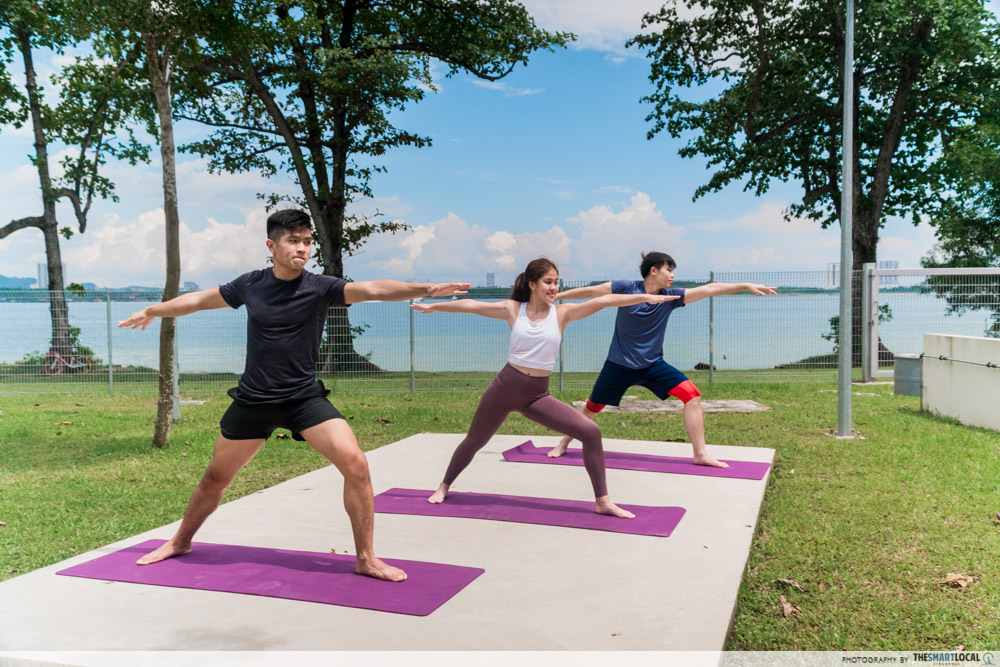 yoga by the beach health promotion board