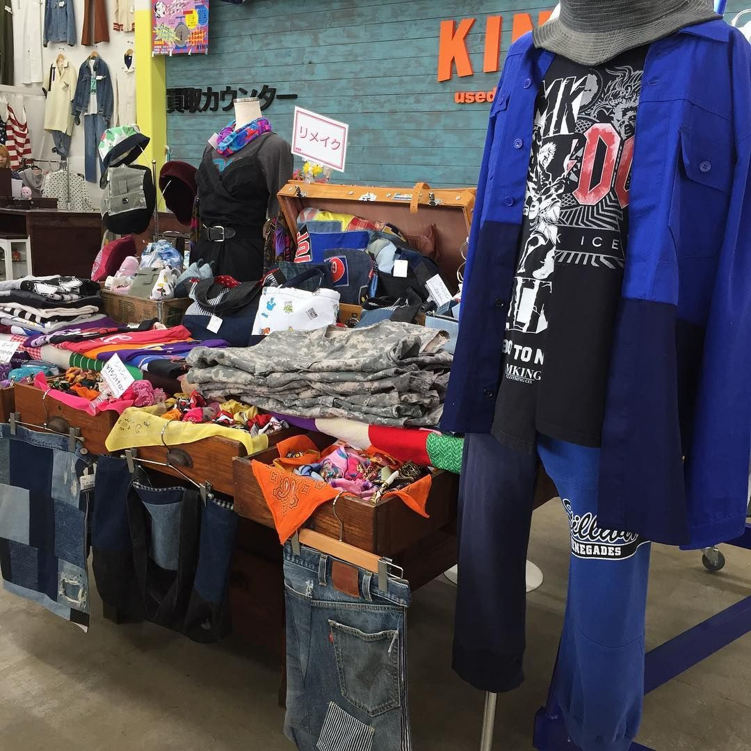kinji used clothing thrift store osaka
