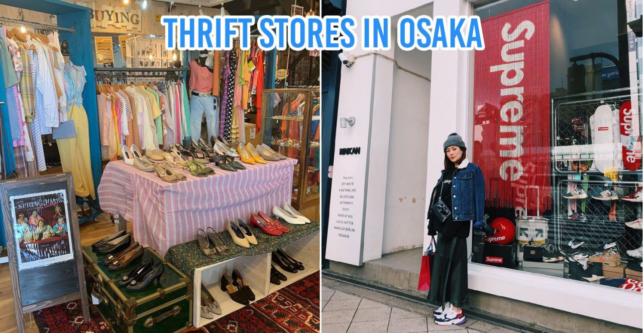 thrift stores in osaka