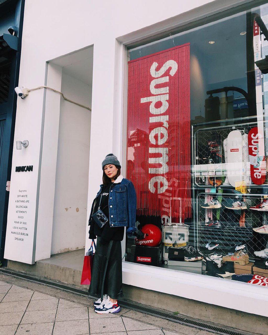 rinkan shinsaibashi osaka thrift store supreme
