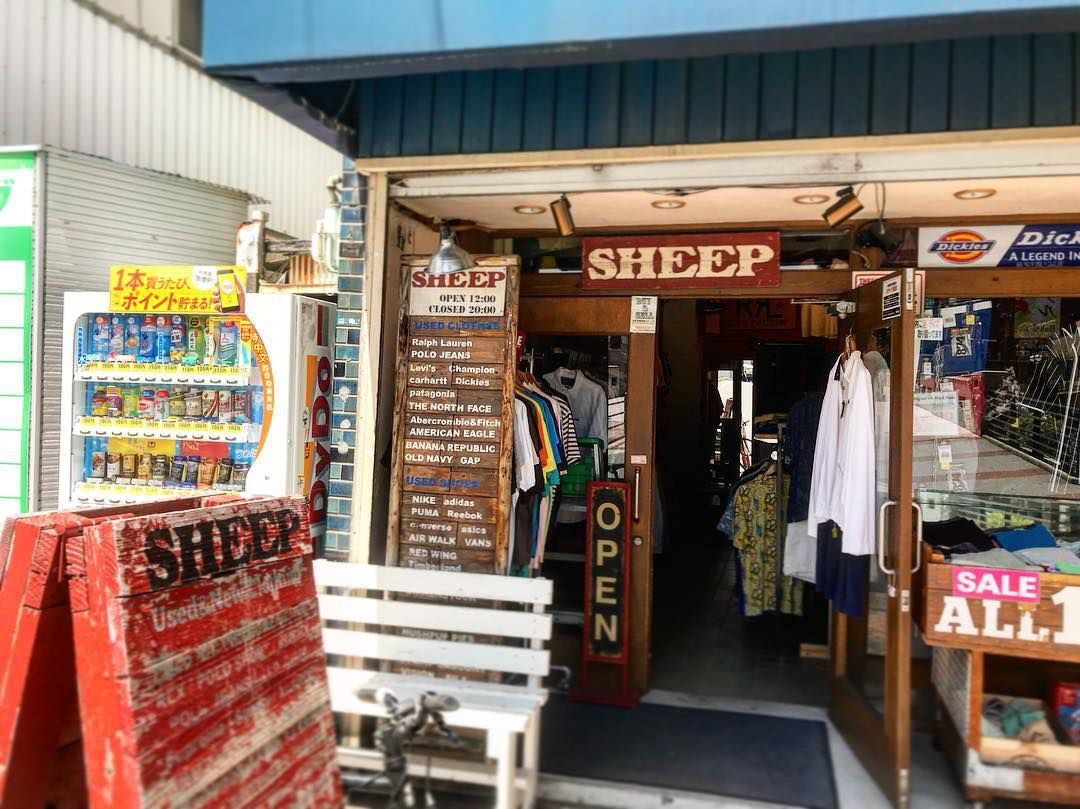 sheep thrift store osaka