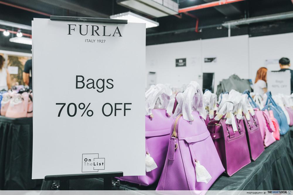 furla warehouse flash sale 2019