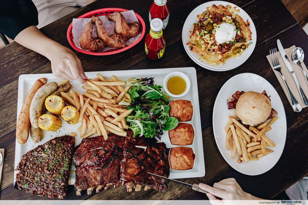 morganfield's meat barbecue restaurant