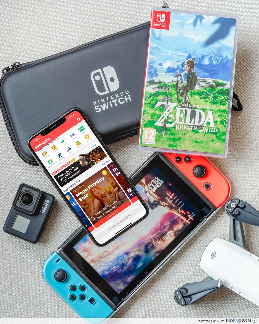 Flash deals include that of Nintendo Switches
