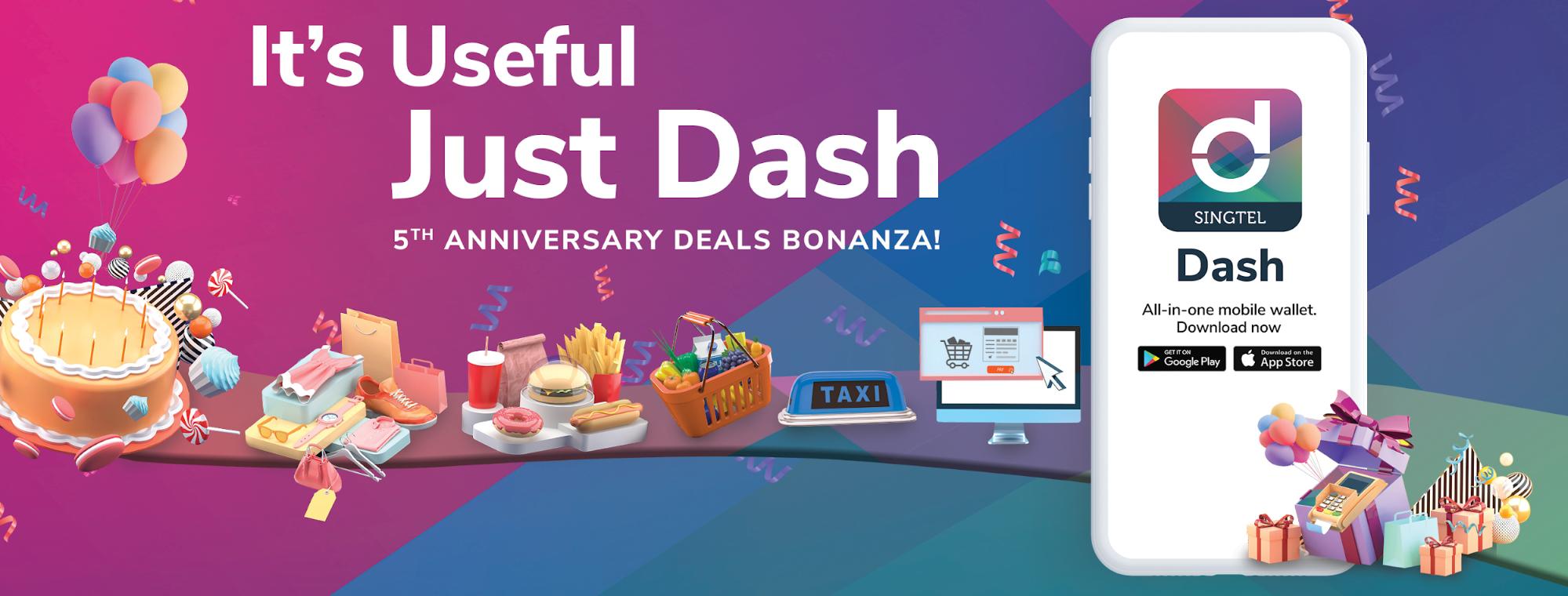 Singtel Dash deals and discounts