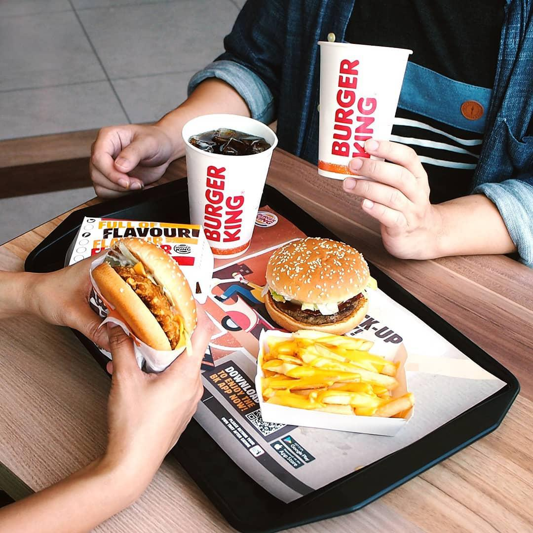 Singtel Dash deals and discounts - Burger King