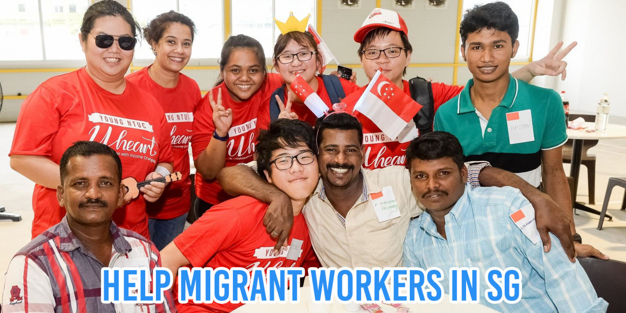 volunteering in SG cover image