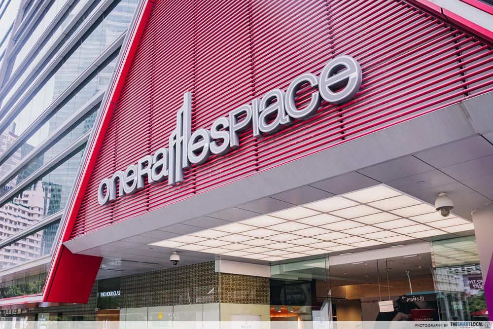 One Raffles Place exterior