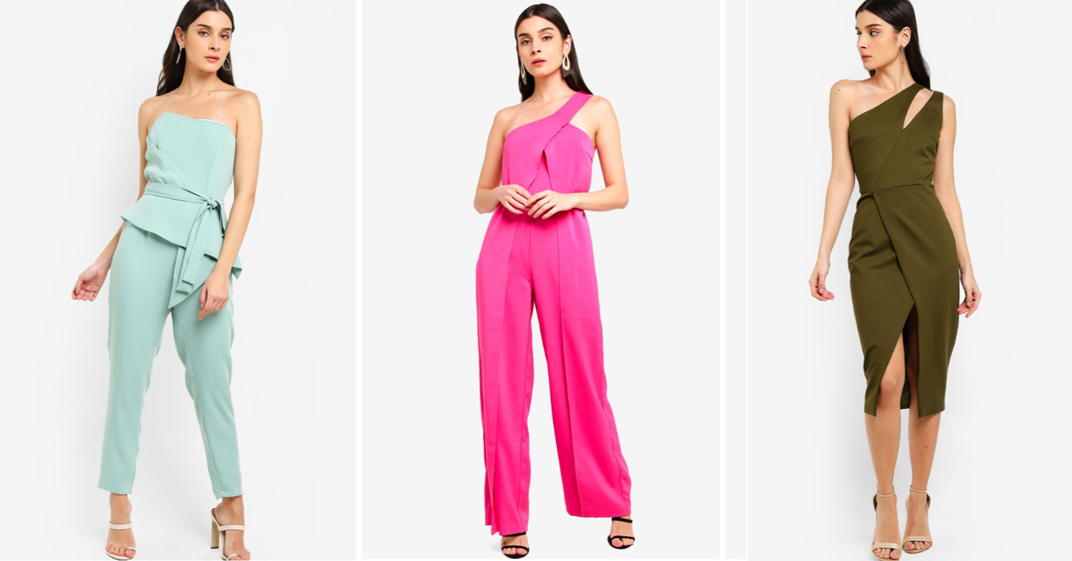 Asymmetrical outfits from ZALORA