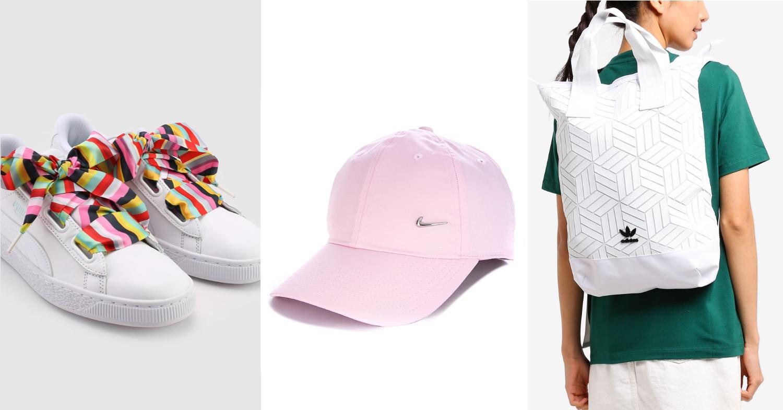 Sporty accessories from ZALORA
